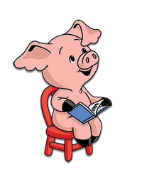 The Reading Pig